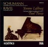 SCHUMANN - Lefébure - Concerto pour piano et orchestre en la mineur op.5