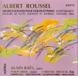 ROUSSEL - Raes - Joueurs de flûte op.27