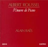 ROUSSEL - Raes - Des heures passent... op.1