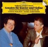 MOZART - Perlman - Sonate pour violon et piano n°32 en si bémol majeur K