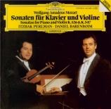 MOZART - Perlman - Sonate pour violon et piano n°34 en la majeur K.526