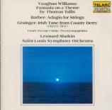 VAUGHAN WILLIAMS - Slatkin - Fantasia on a theme by Thomas Tallis
