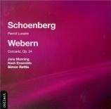 SCHOENBERG - Rattle - Pierrot lunaire op.21
