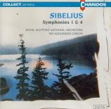 SIBELIUS - Gibson - Symphonie n°1 op.39