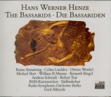 HENZE - Albrecht - Die Bassariden