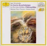 STRAVINSKY - Tilson Thomas - Le sacre du printemps, ballet pour orchestr