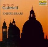 GABRIELI - Empire Brass - Canzone