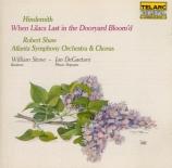 When lilacs last in the dooryard bloom'd