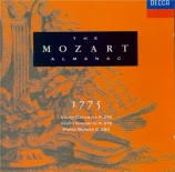 Mozart almanach 1775 / vol.3 (Réédition)