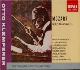 MOZART - Klemperer - Don Giovanni (Don Juan), dramma giocoso en deux act