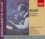 MOZART - Klemperer - Le nozze di Figaro (Les noces de Figaro), opéra bou