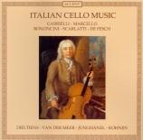 Musique italienne pour violoncelle
