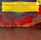 CHOSTAKOVITCH - Järvi - Symphonie n°12 op.112 'L'année 1917'