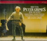 BRITTEN - Davis - Peter Grimes, opéra op.33