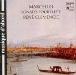 MARCELLO - Clemencic - Sonates pour flûte