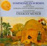 CHAUSSON - Munch - Symphonie op.20
