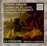 HAYDN - Schneider - L'anima del filosofo (L'âme du philosophe), drame mu