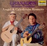 GRANADOS - Romero - Danses espagnoles