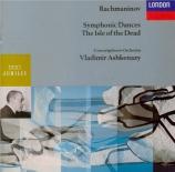 RACHMANINOV - Ashkenazy - L'Ile aux morts, pour orchestre op.29