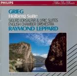GRIEG - Leppard - Holberg suite op.40 : version pour piano