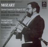 MOZART - Shifrin - Concerto pour clarinette et orchestre en la majeur K