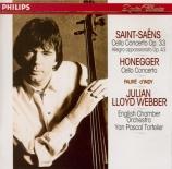 SAINT-SAËNS - Lloyd Webber - Concerto pour violoncelle n°1 op.33