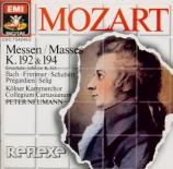MOZART - Neumann - Missa brevis en fa majeur, pour solistes, choeur, cord