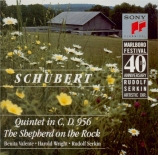 SCHUBERT - Galimir - Quintette à cordes à deux violoncelles en do majeur