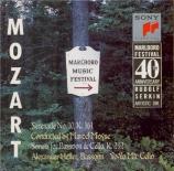 MOZART - Heller - Sérénade n°10, pour instruments à vent en si bémol maj