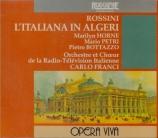 ROSSINI - Franci - L'italiana in Algeri (L'italienne à Alger) live Torino, 11 - 6 - 1968