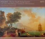Quatuors dédiés à Haydn