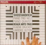 CHOSTAKOVITCH - Beaux Arts Trio - Quintette avec piano op.57