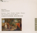 HAENDEL - Hogwood - Orlando, opéra en 3 actes HWV.31