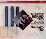 BEETHOVEN - Beaux Arts Trio - Trio avec piano op.1 n°1