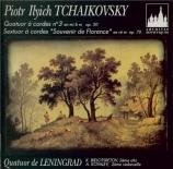 TCHAIKOVSKY - Quatuor de Léni - Quatuor à cordes n°3 en mi bémol mineur