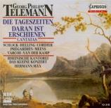 TELEMANN - Max - Die Tageszeiten: Der Morgen kommt, cantate profane TWV