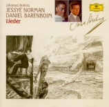 BRAHMS - Norman - Liebestreu (Reinick), mélodie pour voix solo et piano