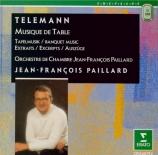 TELEMANN - Paillard - Musique de table : extraits