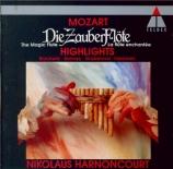 MOZART - Harnoncourt - Die Zauberflöte K.620 : extraits