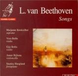 BEETHOVEN - Kweksilber - Sunset, air pour voix avec piano, violon et vio