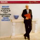 MOZART - Brüggen - Symphonie n°28 en do majeur K.200 (K6.189k)