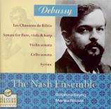 DEBUSSY - Nash Ensemble - Sonate pour violon et piano en sol mineur L.14