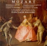 MOZART - Malgoire - Sérénade pour orchestre n°6 'Serenata notturna