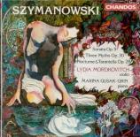 SZYMANOWSKI - Mordkovitch - Sonate pour violon et piano op.9