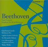 BEETHOVEN - Gibson - Triple concerto pour piano, violon et violoncelle o