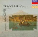 PERGOLESE - Rose - Miserere II en do mineur