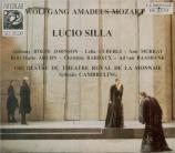 MOZART - Cambreling - Lucio Silla, drame musical en trois actes K.135