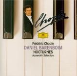 CHOPIN - Barenboim - Nocturnes : extraits