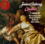 QUANTZ - Galway - Concertos pour flûte