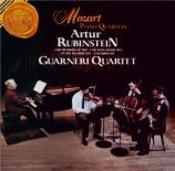 MOZART - Rubinstein - Quatuor pour piano et cordes en sol mineur K.478